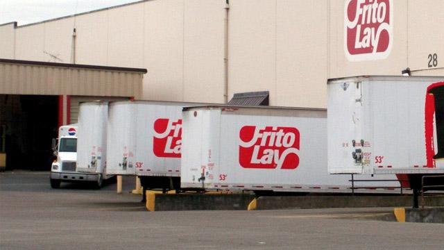 Frito-lay truck